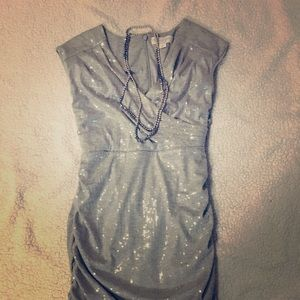 Sequined Jessica Simpson Fitted Dress
